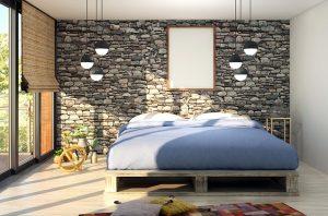 mattress on a bed