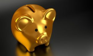 -a golden piggy bank - make a combined budget when combining two households