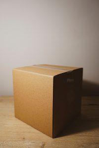 - a moving box