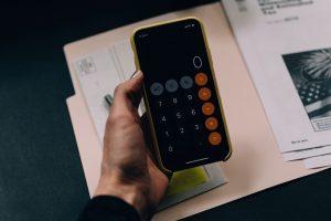 - a calculator