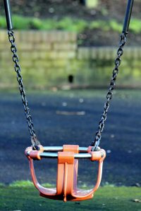 -playground and a swing
