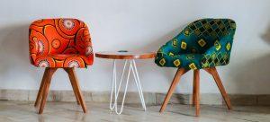 Furniture pieces.