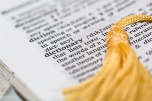 Picture of a dictionary. Learning the language will help you to overcome culture shock when moving