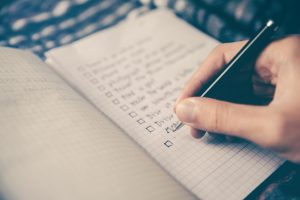 A moving-day checklist