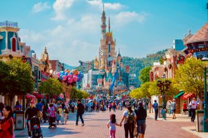 Disneyland, which is one of the best forms of family-friendly entertainment in Hong Kong