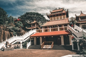 Temple in Asia