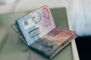 International moving documents include an open passport