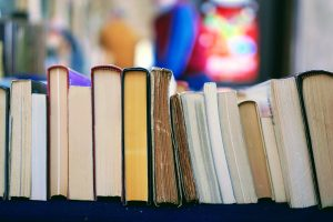 books as items to toss before moving house