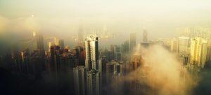 Polluted air of Hong Kong