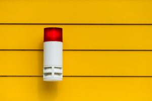 an alarm - feel safe in your new home after moving