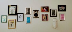 A gallery-wall